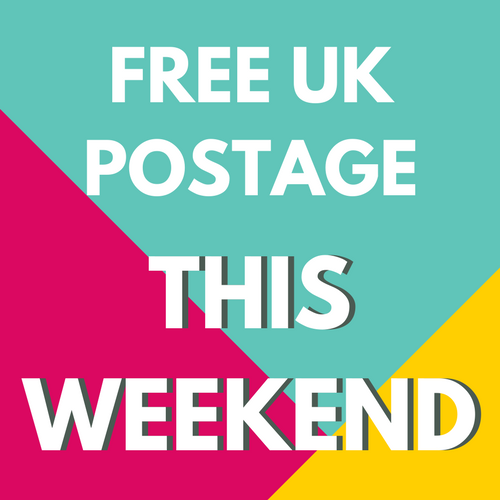 Free UK Postage This Weekend at The Fabric Fox 13th October - 15th October