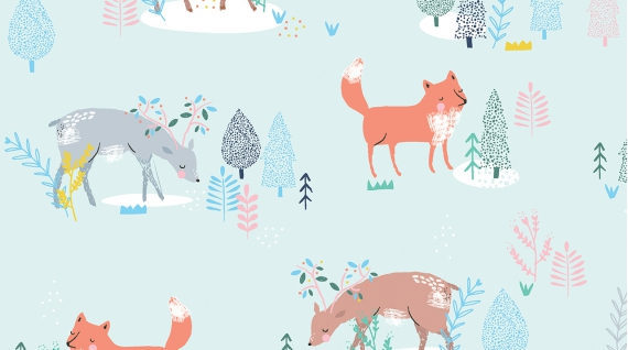 Pine Grove Multi from the Pine Grove collection by Dear Stella