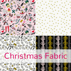 Shop for Christmas fabric at The Fabric Fox