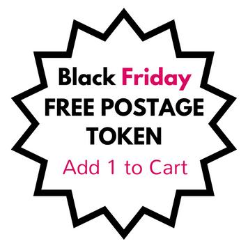 Black Friday Free Postage Token
