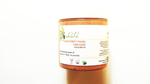 Honey Hair Mask Conditioner Natural Rhassoul Clay