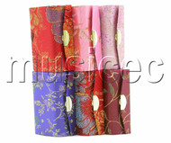 wholesale 6 pieces Multi-color glass Jewelry toiletry silk box T194A2A8