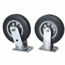 "8"" Solid Rubber Wheel Kit"