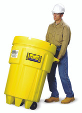 95 Gallon Wheeled Overpack Salvage Drum Spill Kit - Oil Only