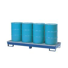 4 Drum Inline SteelPal Spill Pallet