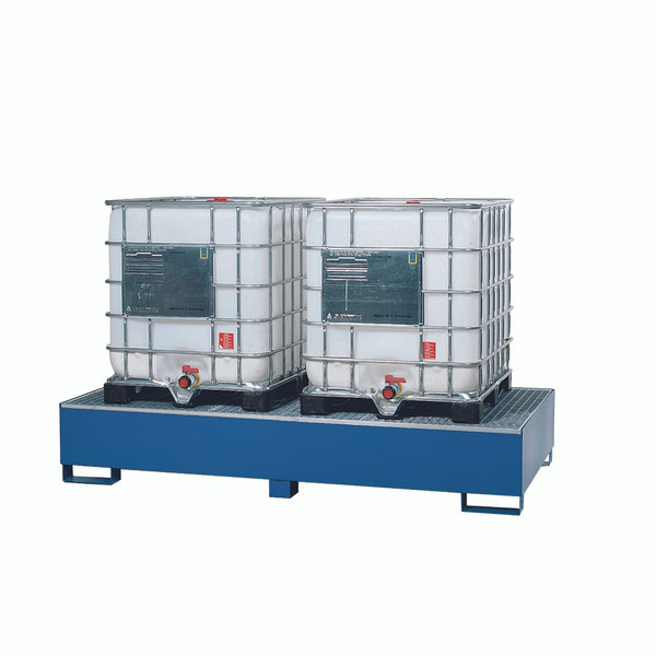 Double IBC Tote Steel Spill Containment Pallet   Spill Containment ...