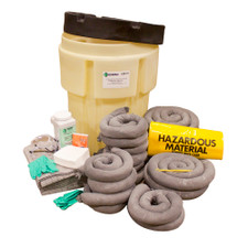 65 Gallon Poly-SpillPack Spill Kit - Universal