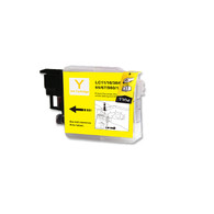 1-Pack YELLOW Compatible Ink for Brother LC61Y