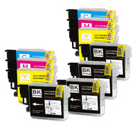 10-Pack Compatible Ink for Brother LC61