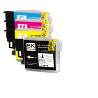 40-Pack Compatible Ink for Brother LC61