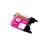 1-Pack MAGENTA Compatible Ink for Brother LC75M