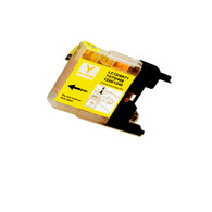 1-Pack YELLOW Compatible Ink for Brother LC75Y