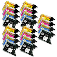 20-Pack Compatible Ink for Brother LC75