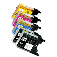 5-Pack Compatible Ink for Brother LC75