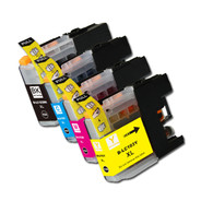 4-Pack Compatible Ink for Brother LC101 / LC103 XL