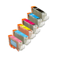 6-Pack Compatible Ink for Canon BCi-6 includes PCPM