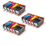18-Pack Compatible Ink w/ GREY for Canon PGI-225/CLI-226