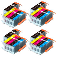 20-Pack Compatible Ink w/ Chip for Canon PGI-250XL / CLI-251XL