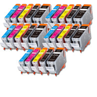 25-Pack Canon CLI-8/PGI-5 Compatible Ink w/ chip