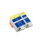 2-Pack (1 Black 1 Color) Ink Cartridges for Kodak No. 30XL