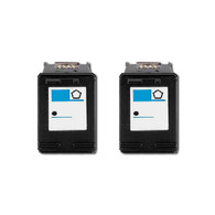 2-Pack HP #21 C9351AN Ink Cartridge - Remanufactured