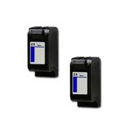 2-Pack HP #23 C1823D Hi-Yield Ink Cartridge - Remanufactured