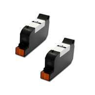 2-Pack HP #45 51645 Hi-Yield Ink Cartridge - Remanufactured