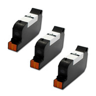 3-Pack HP #45 51645 Hi-Yield Ink Cartridge - Remanufactured