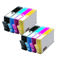 8-Pack Compatible Ink Cartridge Set for 564 564XL