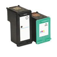 2-Pack HP 74XL 75XL Hi-Yield Ink Cartridge - Remanufactured