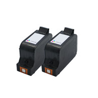 2-Pack HP #78 C6578AN Hi-Yield Tri-Color Ink Cartridge - Remanufactured