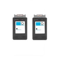 2-Pack HP #92 C9362WN Black Ink Cartridge - Remanufactured