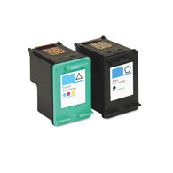 2-Pack (Black+Color) HP #94 #97 Ink Cartridge - Remanufactured