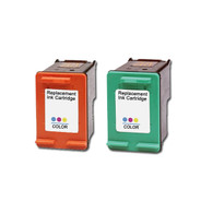 2-Pack (Color+Photo) HP #99 #97 Ink Cartridge - Remanufactured