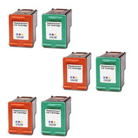 6-Pack (3Color+3Photo) HP #99 #97 Ink Cartridge - Remanufactured