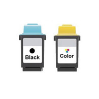 2-Pack Lexmark #70 #20 Set Ink Cartridge - Remanufactured