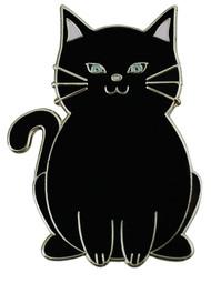 Black Cat Ball Marker