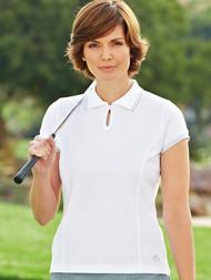 Capped Sleeve Polo Shirt