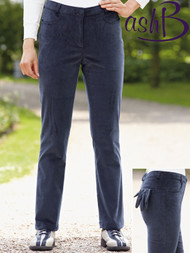 Slim Leg Cord Trousers