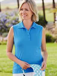 Jacquard Sleeveless Shirt