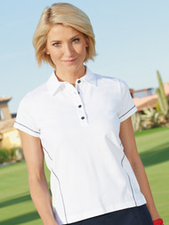 Coverstitch Polo Shirt