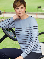 Brittany Stripe Sweater