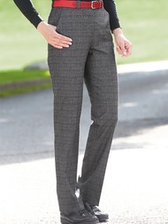 Supersoft Check Trousers
