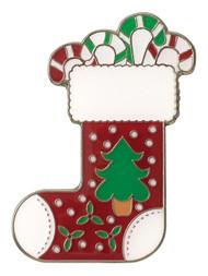 Christmas Stocking Ball Marker