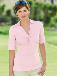 Aleah 1/2 Sleeve Polo Shirt