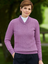 Ivy Shawl Neck Sweater
