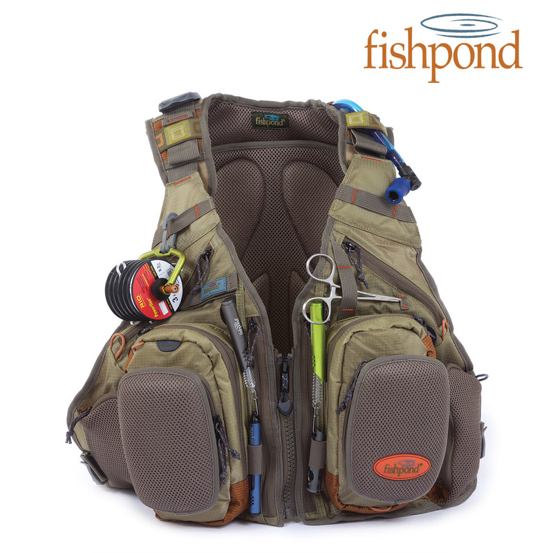 Fishpond Wasatch Tech Pack Front View Color: Driftwood