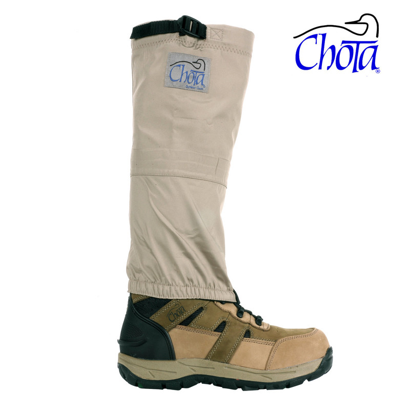 Chota Caney Fork Knee High Sock shown with optional Caney Fork Wading Boot.