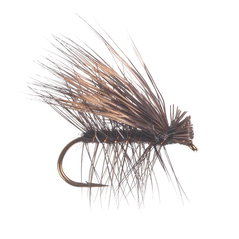Elk Hair Caddis Black Dry Fly