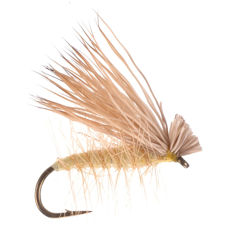 Elk Hair Caddis Yellow Dry Fly